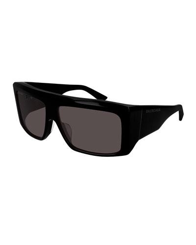 06f8d7d6ee Quick Look. Balenciaga · Men s Flat-Top Acetate Sunglasses. Available in  Black