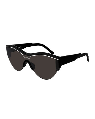 12cc203047 Quick Look. Balenciaga · Men s Ski-Construction Mask Sunglasses. Available  in Black