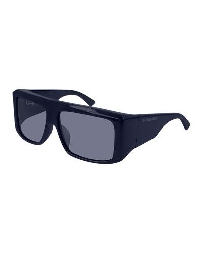 6302ba3491 Quick Look. Balenciaga · Men s Flat-Top Acetate Sunglasses