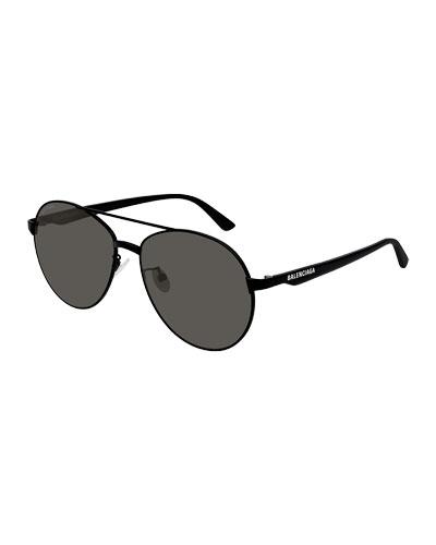 Men's Aviator Metal Unisex Sunglasses