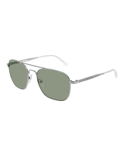 514c6d2ee4 Quick Look. Balenciaga · Men s Man Metal Aviator Sunglasses