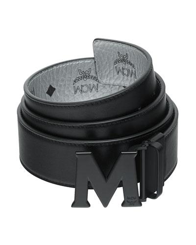 mcm mens belt
