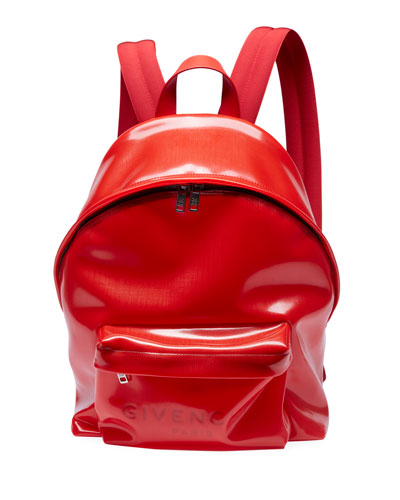 Men's Transparent Plastic Backpack