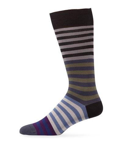 Men's Cart Stripe Socks