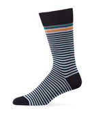 Paul Smith Men's Artist Stripe Socks