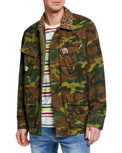 a582ea17d1e5 Cotton Print Jacket