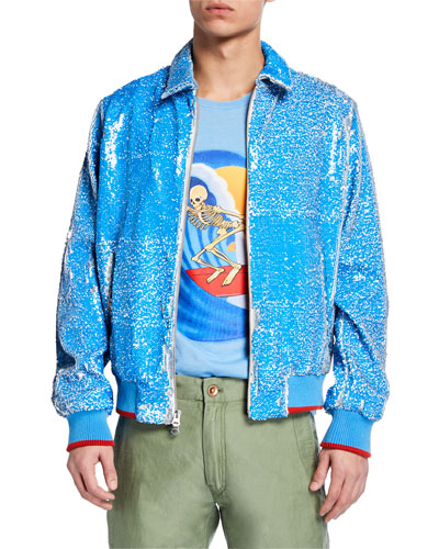 b1bf4b0c Imported Sequined Jacket | Neiman Marcus