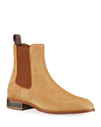 Men's Samsocool Red Sole Chelsea Boots