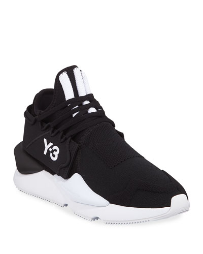 new concept ec57d 7ceb0 Quick Look. Y-3 · Men s Kaiwa Knit Trainer Sneakers