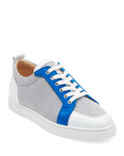 Christian Louboutin Men's Rantu Colorblock Leather Low-Top