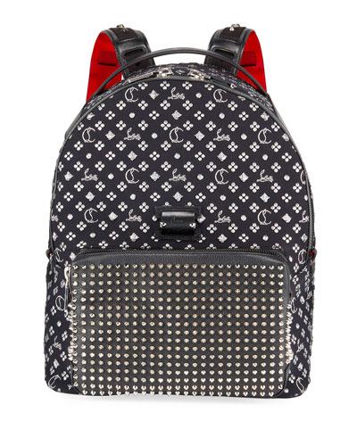 Men's Backloubi Neo Jacquard Spike Backpack