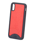 Christian Louboutin Men's Loubiphone Sneaker iPhone X/XS Case