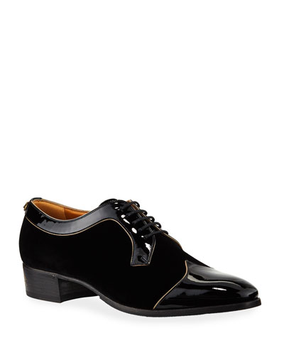 4bded4cc04c Quick Look. Gucci · Men s Thune Velvet Lace-Up Shoes ...
