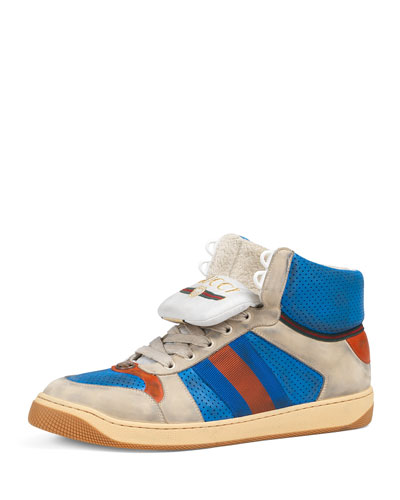 Men's Screener High-Top Sneakers