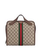 Gucci Men's GG Supreme Small Duffel Bag
