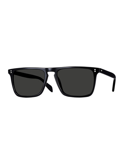 Bernardo Polarized Sunglasses, Black