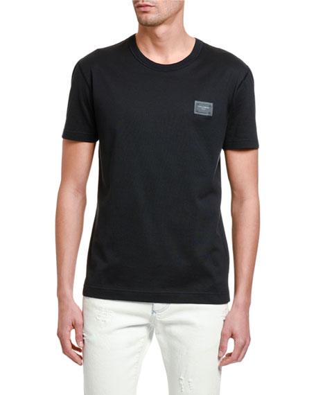 Dolce & Gabbana Men's Basic Crewneck T-Shirt