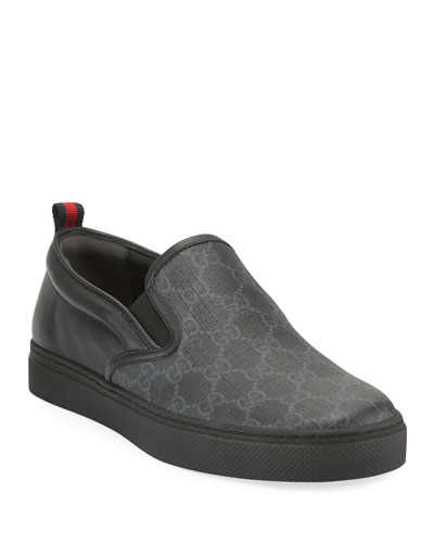 Men's Dublin Logo Slip-On Sneakers
