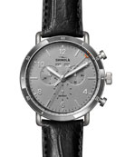 Shinola Men's 45mm Canfield Sport Chrono Watch