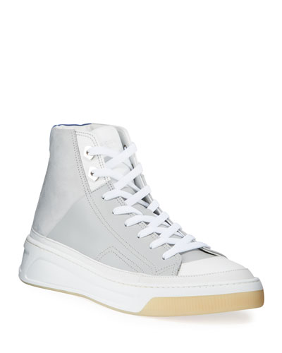 Men's Prodigy Leather Mid-Top Sneakers