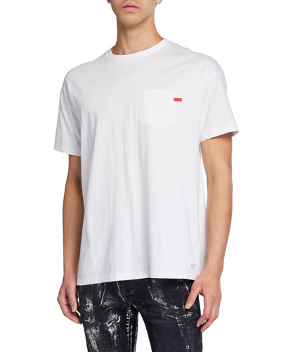 Men's Relaxed-Fit Pocket T-Shirt
