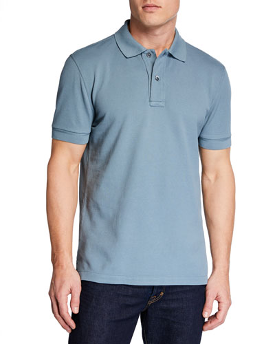 7ed384fb Quick Look. TOM FORD · Men's 2-Button Pique Polo Shirt