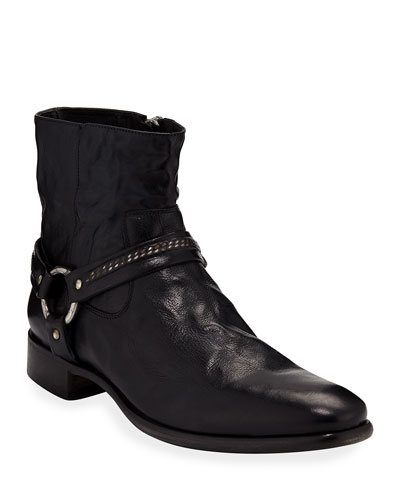 Eldridge Leather Harness Boot