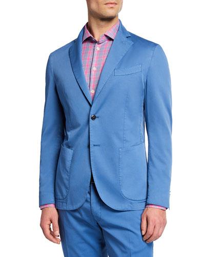 Men's Stretch Cotton Jacket