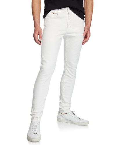 Men's Slim-Fit Low-Rise Jeans