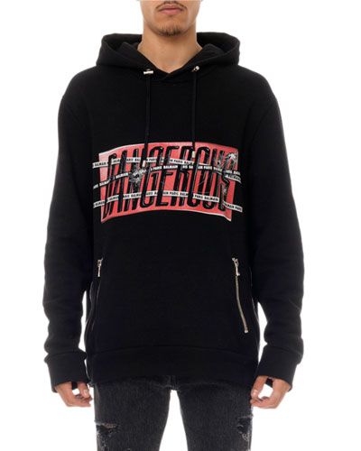 Men's Dangerous Graphic Hoodie