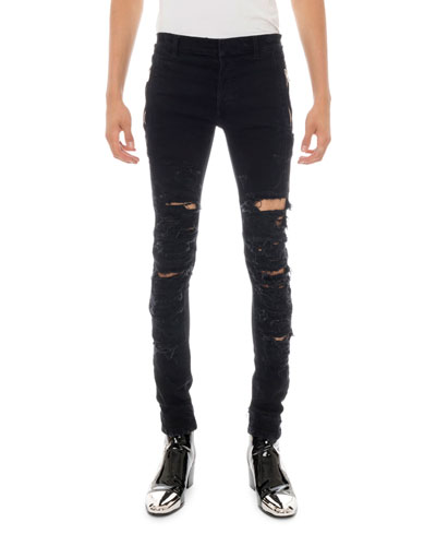 b8b33316dc Quick Look. Balmain · Men's Destroyed Skinny Jeans. Available in Black