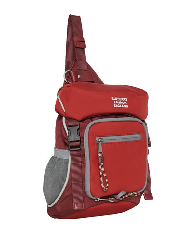 Men's Mini Crossbody Backpack