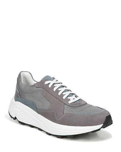 Men's Eastside Suede-Trim Sneakers
