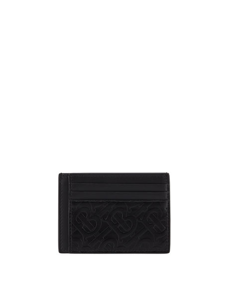 Burberry Men's Bernie TB Monogram Card Case