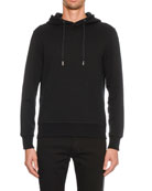 Alexander McQueen Men's Hoodie Sweatshirt with Convertible Zipper