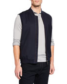 Loro Piana Men's Crossroad TechnoWool Vest
