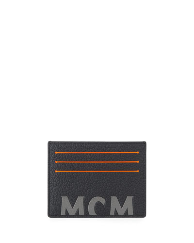 638c2ee8667d Quick Look. MCM · Men s Big Logo Leather Card Case. Available in Black