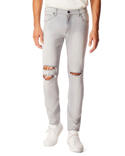 Men's Mick Distressed-Denim Jeans