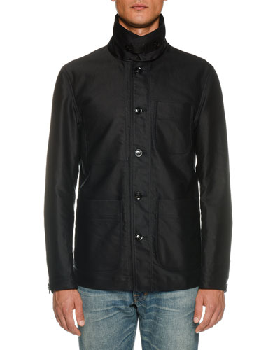 a55829f04a95 Quick Look. TOM FORD · Men s Workwear Stand-Collar Jacket