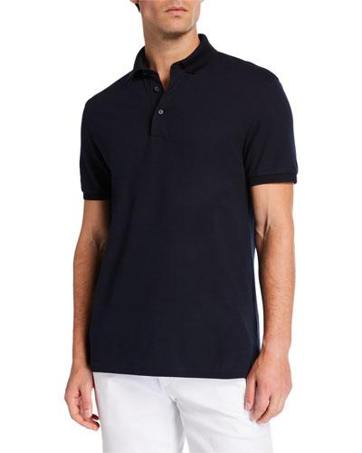 Men's Cotton Jersey Polo Shirt