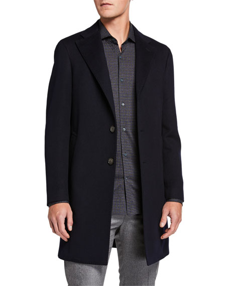 Loro Piana Men's Sartorial Cashmere Coat