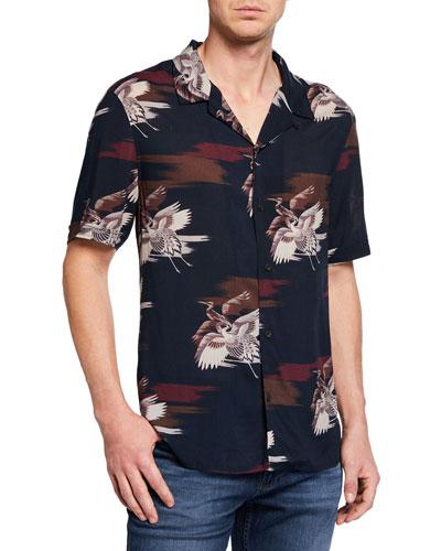 Men's Landon Graphic Print Shirt