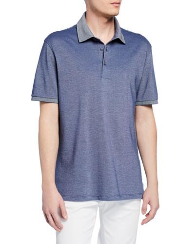 7aa8eeaa1beba Quick Look. Ermenegildo Zegna · Men's Cotton Jersey Polo Shirt
