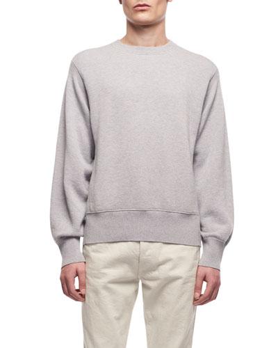 Men's Nicolas Crewneck Cotton-Cashmere Sweatshirt