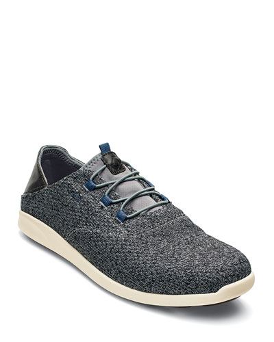Men's Alapa Li Slip-On Mesh Sneakers, Charcoal