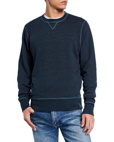 Men's Crewneck Heathered Sweatshirt