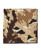 TOM FORD Camouflage Silk Pocket Square