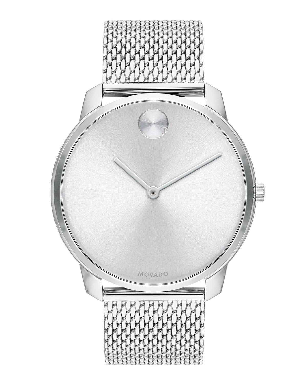 Men's Bold Thin Mesh-Bracelet Watch