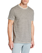 Rag & Bone Men's Railroad Stripe Short-Sleeve Tee
