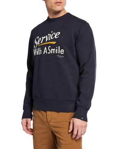 Men's Good Service Graphic Sweatshirt